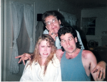 Dean, Leana, Chris' Bday 1989