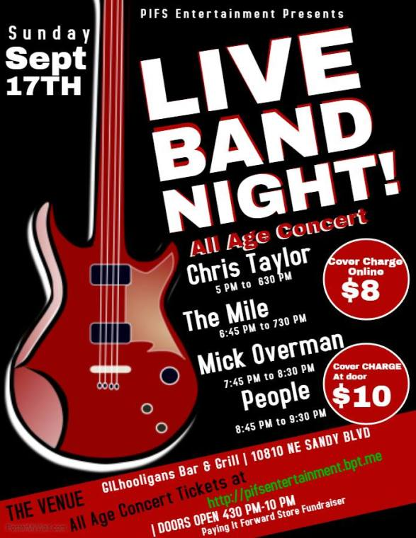 Live band night